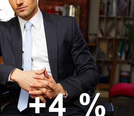 Nízká rizikovost avýnos 4–5%p.a.? To dokážeme splnit